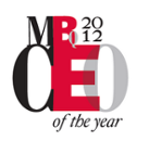 MBQ 2012 CEO of the Year logo